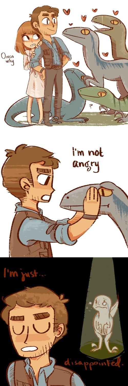 geek memes chris pratt raptor dad