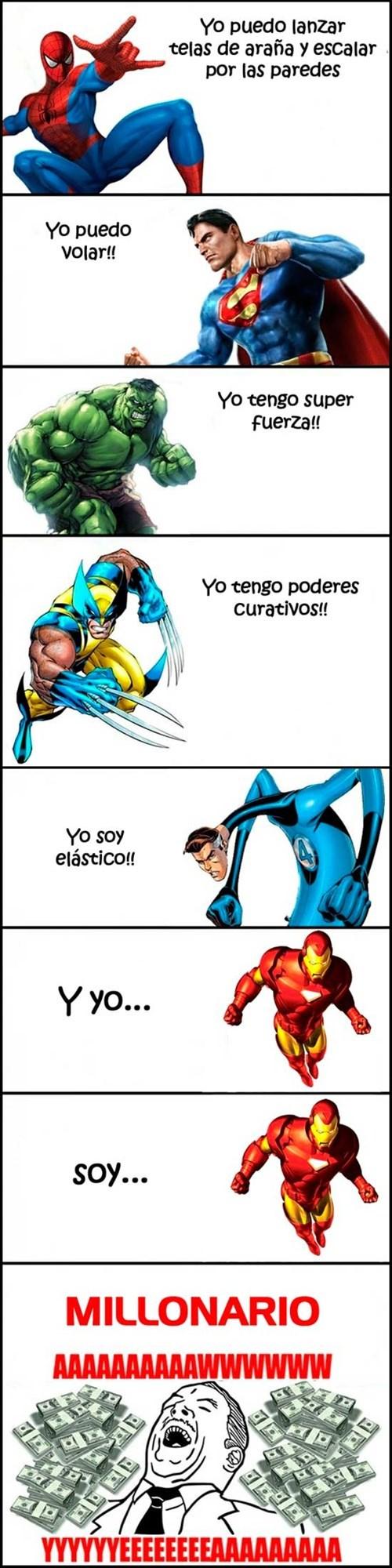superheores y sus poderes