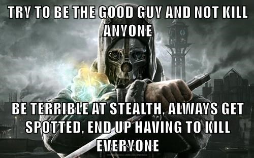 stealth games,dishonored