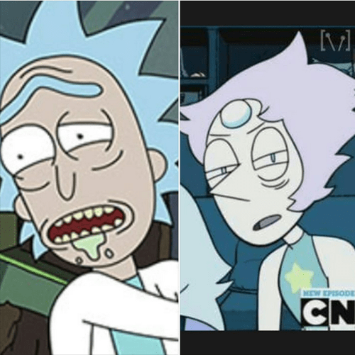 rick and morty steven universe - 8512498176