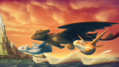 Fan Art How to train your dragon - 8514138624