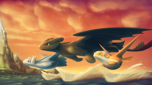 Fan Art How to train your dragon - 8514138624