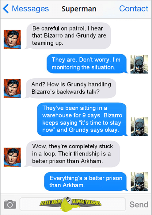superheroes-batman-superman-dc-bizarro-grundy-infinite-loop