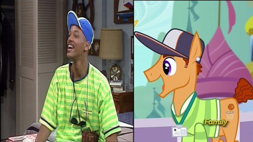 background pony,fresh prince,totally looks like