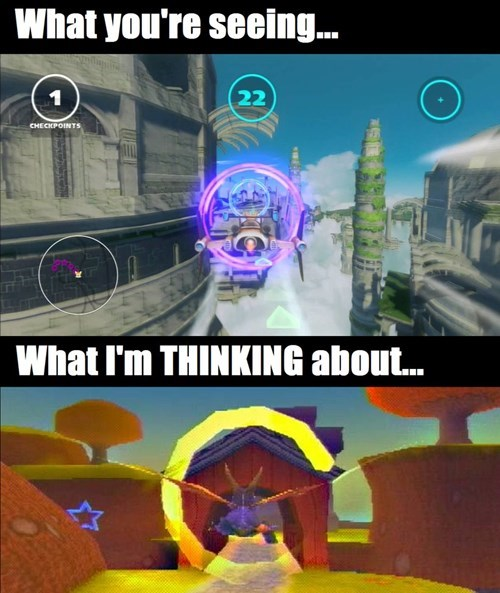 sonic the hedgehog,spyro,sonic
