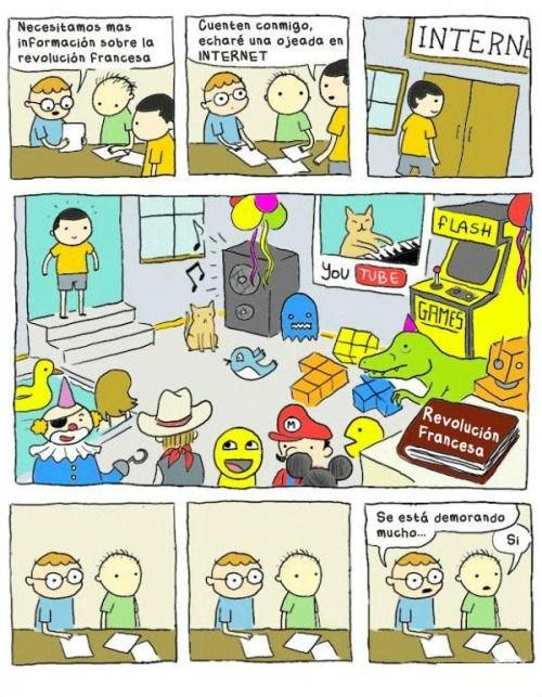 visita en internet