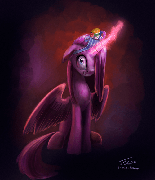 Fan Art alicorn pinkie pie - 8515529984