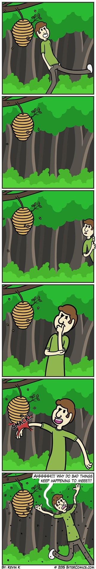 hives bees web comics - 8515879168