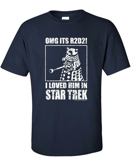geeky merch dalek trolling shirt