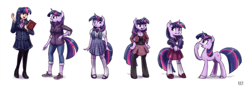 evolution twilight sparkle - 8516225536