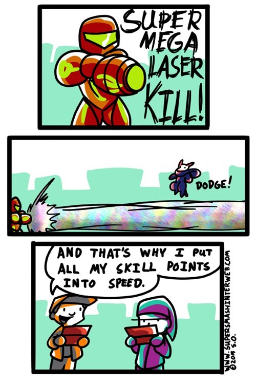samus super smash bros dodge video games stats web comics