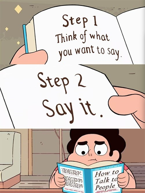 cartoon memes steven universe how talk people