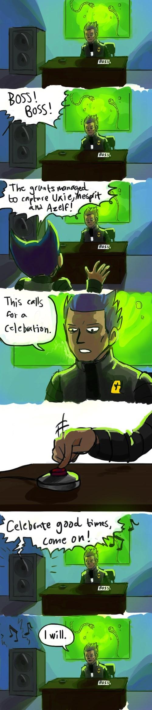 pokemon memes team galactic celebrate