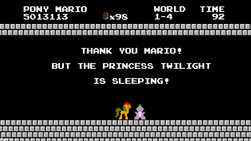 spike princess twilight sleeping mario