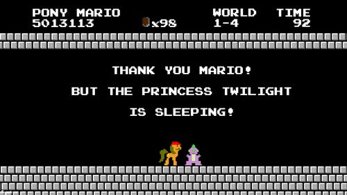 spike princess twilight sleeping mario - 8517327360