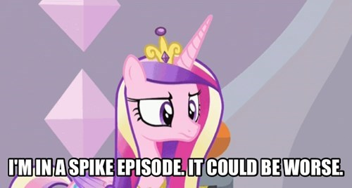 spike princess cadence could be worse - 8517332224
