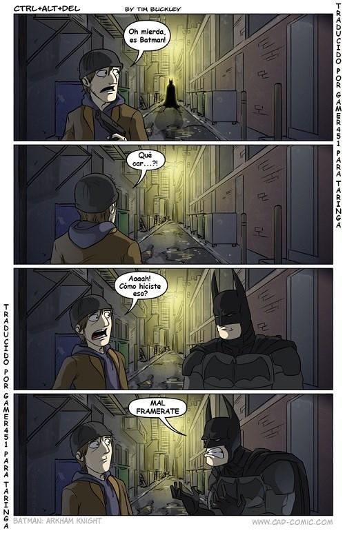 Batman y su lucha contra el framerate