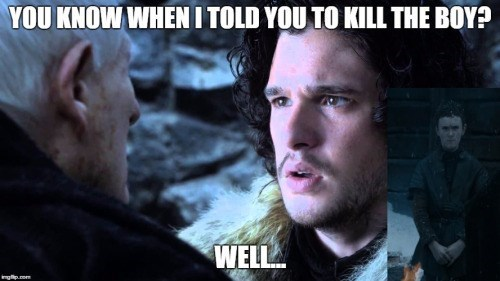 Game of thrones memes season 5 Jon Snow should have listened to Maester Aemon