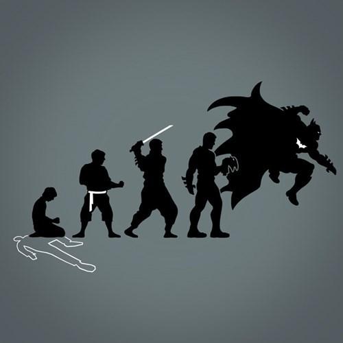 superheroes-batman-dc-evolution-art-orphan-to-dark-knight