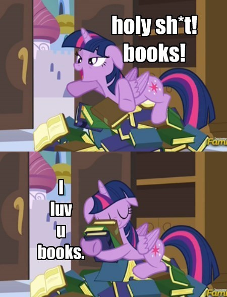 twilight sparkle book horse books - 8517949184