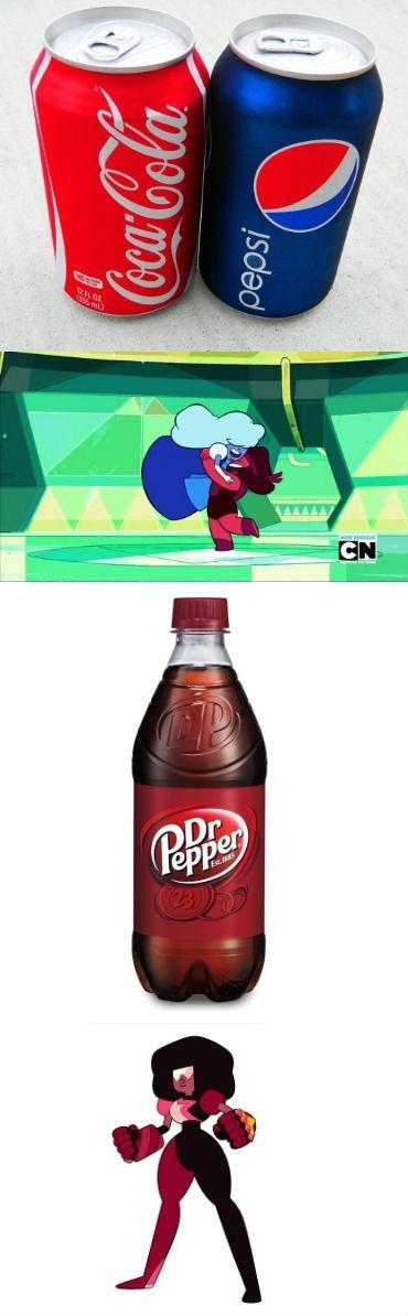 cartoon memes steven universe garnet dr pepper