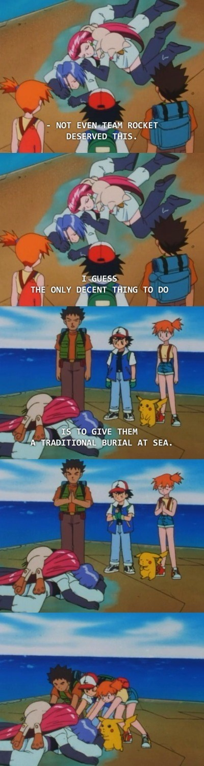 pokemon memes team rocket burial sea