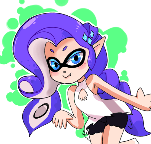 Fan Art splatoon rarity - 8518218496
