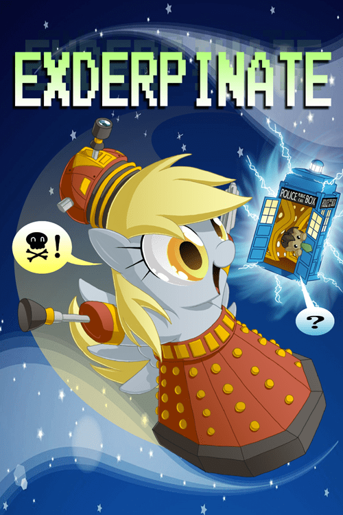 dalek derpy hooves Fan Art - 8518277120