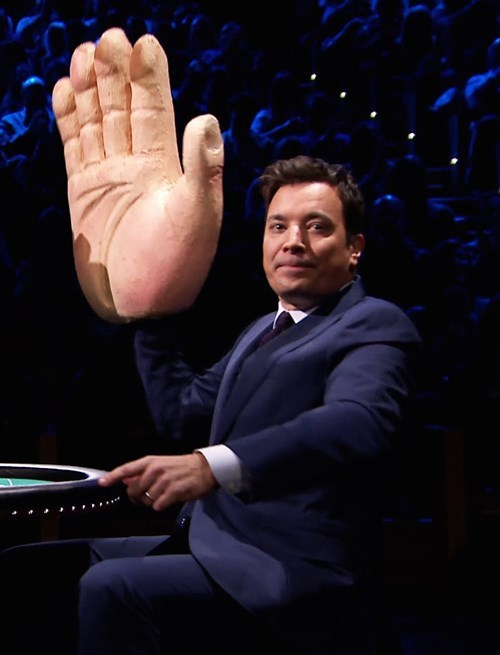 jimmy fallon injury Tonight Show hand - 8518844416