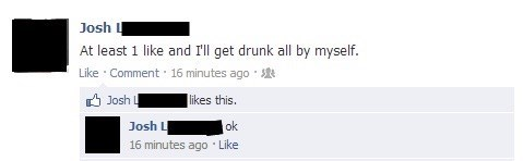 drinking, drunk, forever alone, drinking alone
