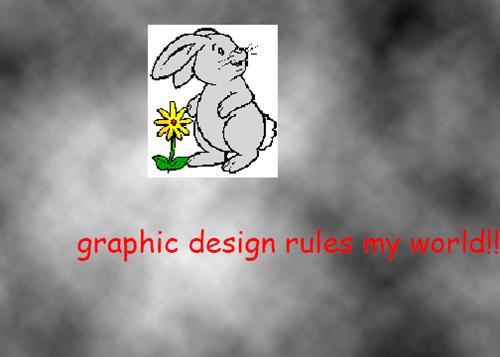graphic design rules my world clip art