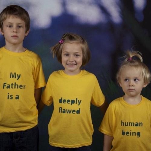 tshirts, kids, divorce, mean, fatherhood