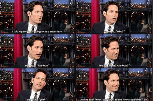 paul rudd, dad, movies, interview, superheroes