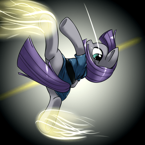 Fan Art martial arts maud pie - 8519654400