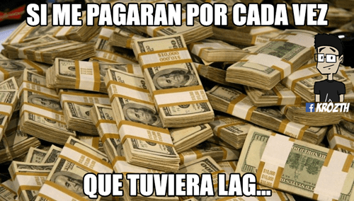 dinero por lag
