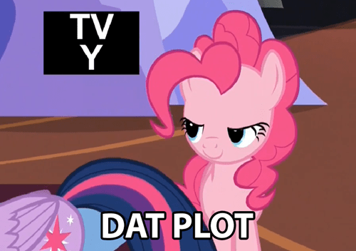 plot,one of us one of us,pinkie pie