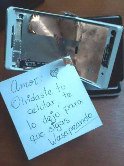 toma tu celular