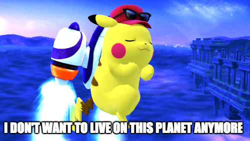 pokemon memes smash pikachu dont want live planet anymore
