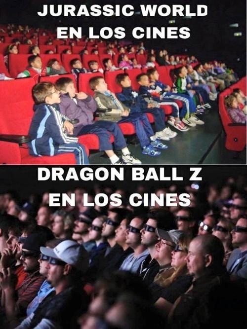 dragon ball jurassic world