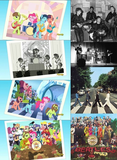 beatles,pinkie pie,MLP