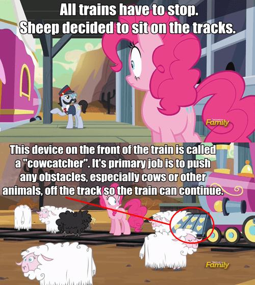 cowcatcher sheep trains - 8522128640