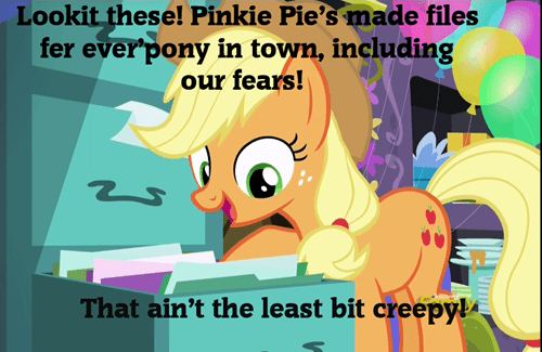 watching you pinkie pie