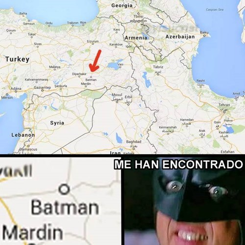 batman ubicado