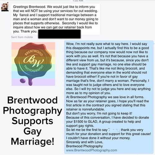 funny facebook fails photography supports all love while customer inadvertently makes donation to support them as well
