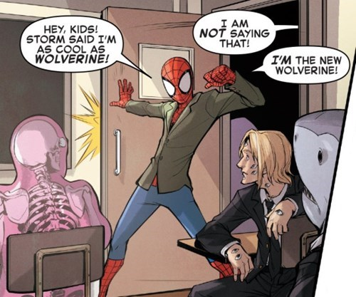 cool guy Straight off the Page Spider-Man - 8522900736
