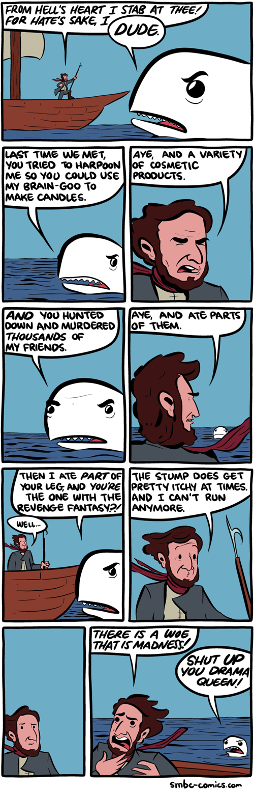 moby dick,whales,web comics