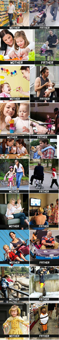 moms, dads, kids, safety, differences