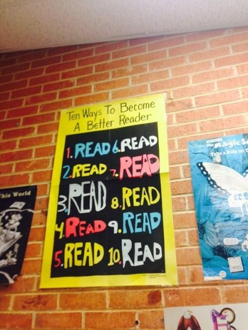 ten ways to become a better reader