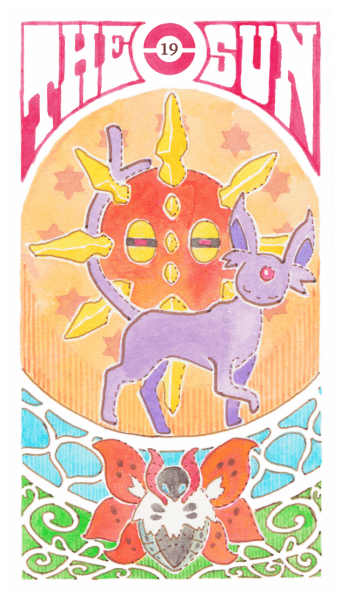 pokemon memes tarot cards