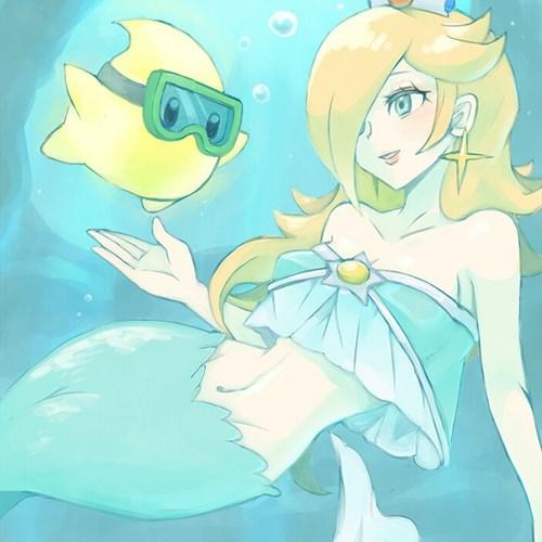 rosalina,mermaid